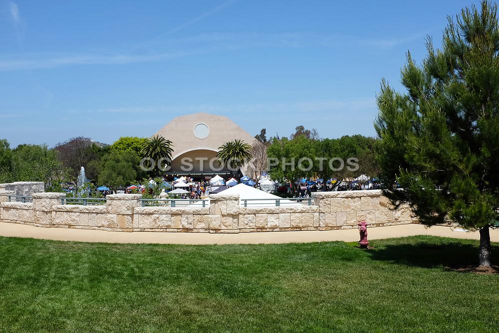 Grounds at Soka Universtiy, Looking Towards the Recreation Center