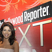 HONG KONG - MARCH 24: Indian actress and former Miss World Priyanka Chopraattends The Hollywood Reporter Next Gen Asia Launch Cocktail Reception event at the W Hotel Kowloon on March 24, 2009 in Hong Kong. The initiative has recognised over 500 individuals under 35 over the last 15 years, and is run in conjunction with the Hong Kong International Film Festival.  Photo by Victor Fraile / studioEAST