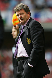 CARDIFF, WALES - SATURDAY MARCH 26th 2005: Wales' manager John Toshack during the Wold Cup Qualifying match at the Millennium Stadium. (Pic by David Rawcliffe/Propaganda)