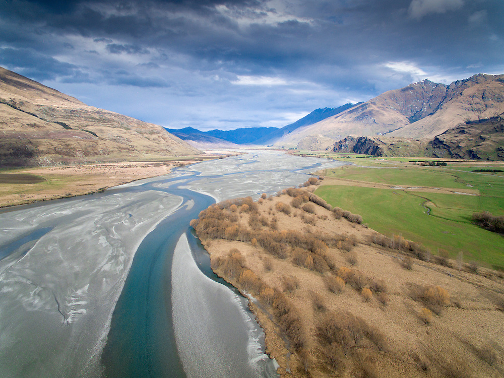 Matukituki River, Central Otago, New Zealand