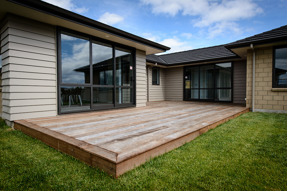 TAUPO, NEW ZEALAND - November 02:  GJ Gardner : Showhome 5 Facilita Ave Wharewaka , Taupo November 02, 2014 in Taupo, New Zealand.  GJ Gardner showhome .  (Photo by Mark Tantrum/ mark tantrum.com)