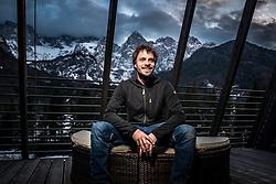 Jan Podgornik during interview for Iceland expeditions on March 1 , 2019 in Hotel Spik, Gozd Martuljek, Slovenia. Photo by Peter Podobnik / Sportida