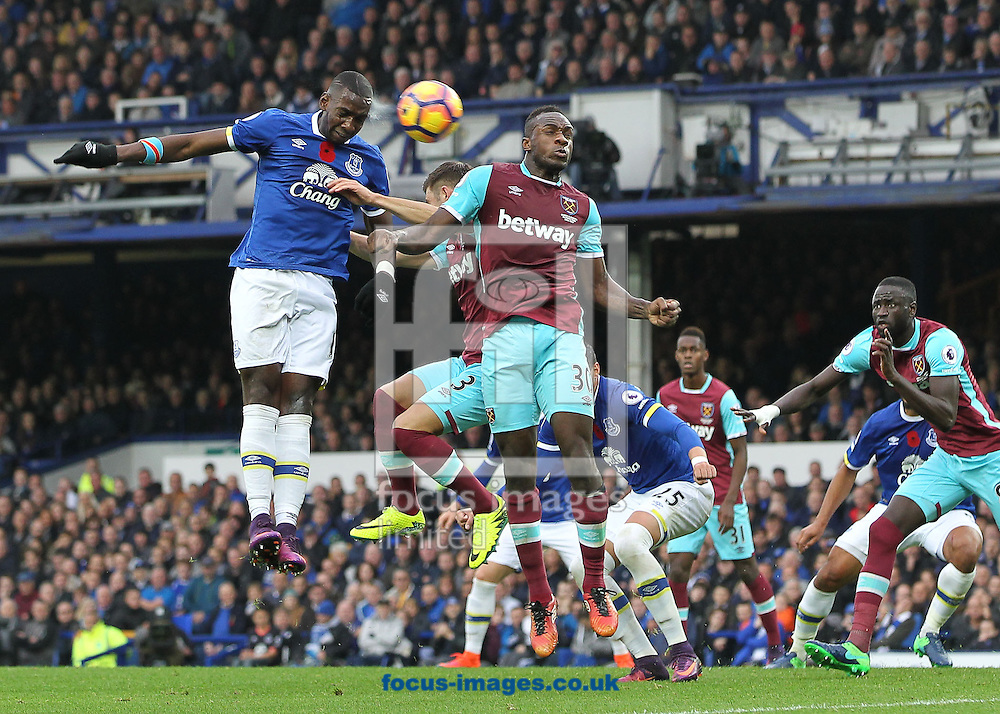 Yannick Bolasie of Everton in action against West Ham United during the Premier League match at Goodison Park, Liverpool.<br /> Picture by Michael Sedgwick/Focus Images Ltd +44 7900 363072<br /> 30/10/2016
