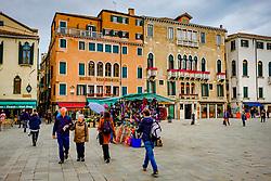 Campo Santa Maria Formosa, Venice, Italy<br /> <br /> (c) Andrew Wilson | Edinburgh Elite media