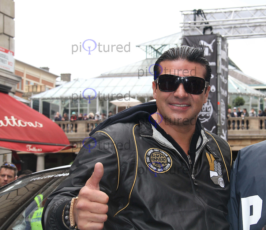 Tamer Hassan The Gumball 3000 Rally - Celebrities, Covent Garden, London, UK, 26 May 2011:  Contact: Rich@Piqtured.com +44(0)7941 079620 (Picture by Richard Goldschmidt)