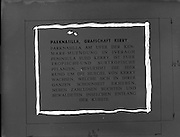 17/02/1953<br /> 02/17/1953<br /> 17 February 1953<br /> Copies for Modern Display Artists. German language tourism advertisement or information for places in Ireland. Parknasilla