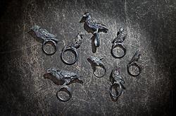 Crow Raven jewelry. Jewelry store interior Washington DC caddy's alley