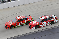 May 6, 2018 - Dover, Delaware, United States of America - Ross Chastain (15) and Austin Dillon (3) battle for position during the AAA 400 Drive for Autism at Dover International Speedway in Dover, Delaware. (Credit Image: © Chris Owens Asp Inc/ASP via ZUMA Wire)