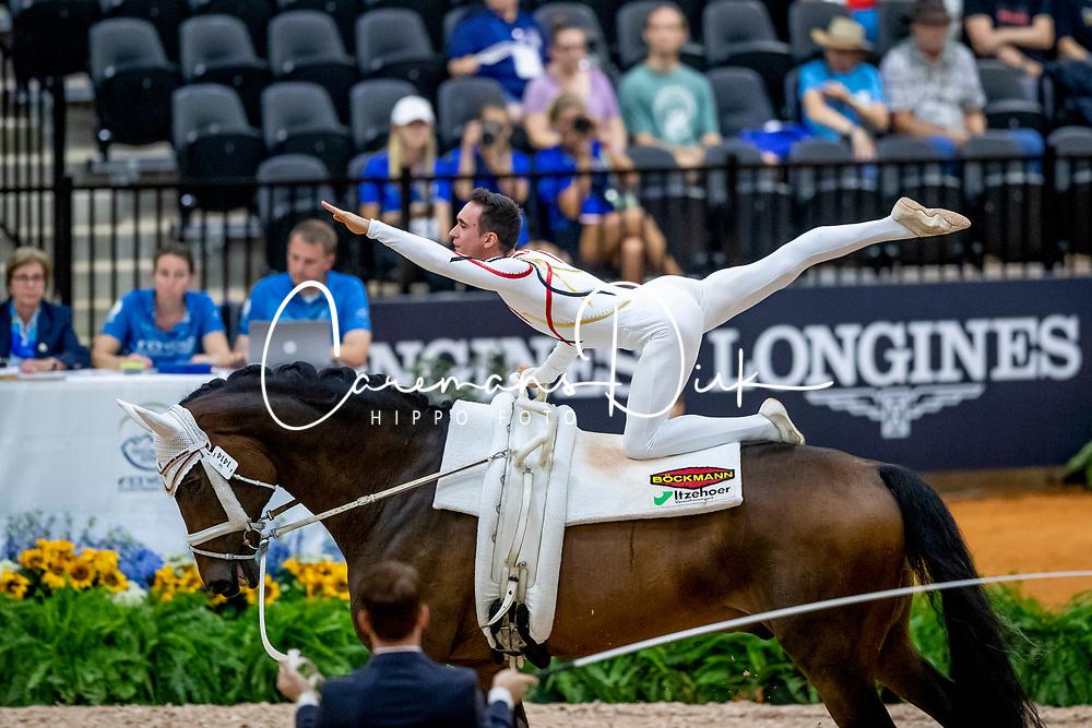 Brüsewitz Thomas, GER, Danny Boy Old, Lunger Looser Patrick<br /> World Equestrian Games - Tryon 2018<br /> © Hippo Foto - Stefan Lafrenz<br /> 18/09/18