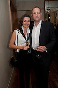 GOSIA TURNBULL; STEFAN TURNBULL, Launch of the Orange restaurant, 37 Pimlico Road, SW1W 8NE,  Thursday 29 October 2009