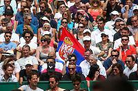 Supporters Novak Djokovic - 17.04.2015 - Tournoi de Monte Carlo 2015 - Masters 1000 <br />Photo : Serge Haouzi / Icon Sport