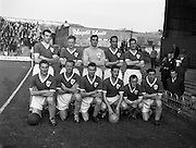 02/09/1959<br /> 09/02/1959<br /> 02 September 1959<br /> Soccer: League of Ireland v Scottish League at Dalymount Park, Dublin. The Irish League team.