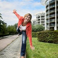 Nederland, Amsterdam , 8 juli 2011..Barbara de Loor (Amsterdam, 26 mei 1974) is een Nederlands oud-langebaanschaatsster en presentatrice..Foto:Jean-Pierre Jans