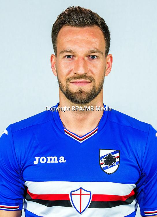 Italian League Serie A -2016-2017 / <br /> ( UC Sampdoria ) - <br /> Daniel Pavlovic