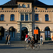 The train station in Uppsala is the fourth largest city of Sweden, and home to Uppsala University the oldest centre of higher education in Scandinavia.<br /> Photography by Jose More