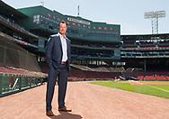 BOSTON - Retired Boston Red Sox pitcher Tim Wakefield, Tuesday, June 26, 2018. © Christine Hochkeppel/Salty Broad Studios