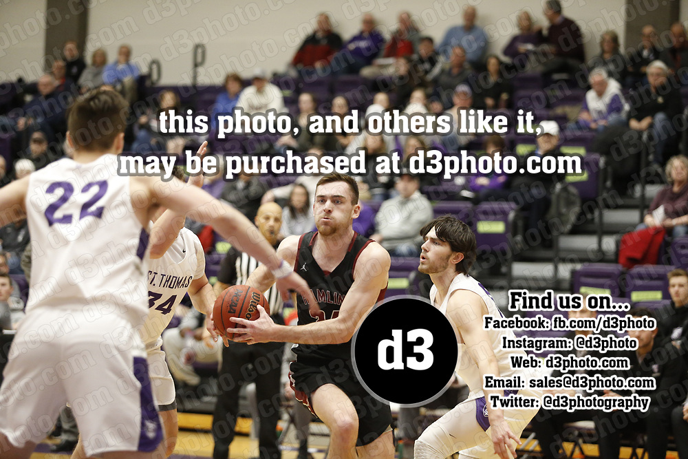 Men's Basketball: University of St. Thomas (Minnesota) Tommies vs. Hamline University Pipers