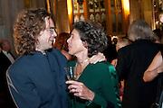 JAMIE BYNG; DEBBIE OWEN, The 2009 Booker Prize dinner. Guildhall. London. 6 October 2009