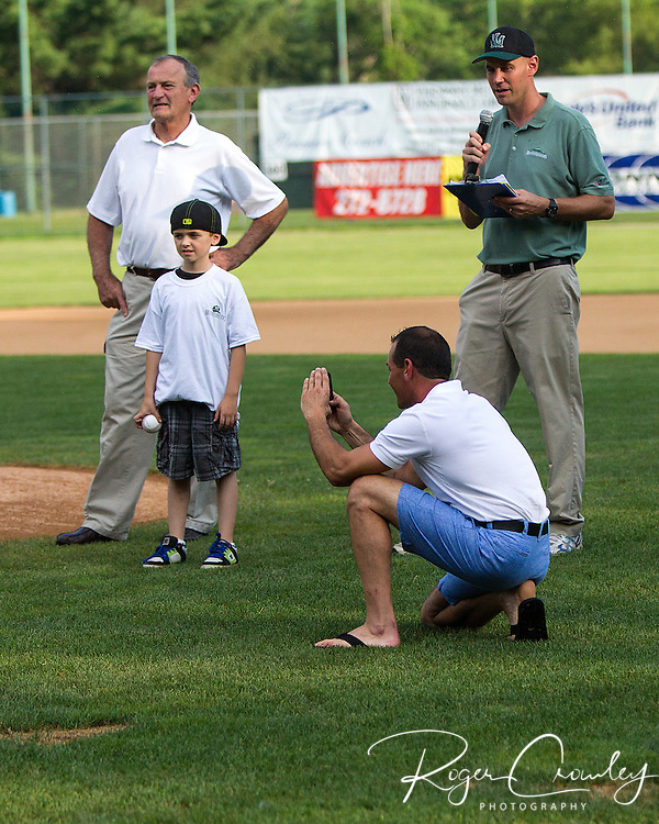 The Vermont Mountaineers fell 4-2 to the New Bedford Bay Sox in a NECBL game at Recreation Field in Montpelier, VT.