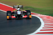 Nov 15-18, 2012: Narain KARTHIKEYAN (IND), HRT F1 TEAM.© Jamey Price/XPB.cc