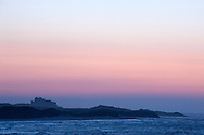 Sunset over Bamburgh Castle, Northumberland Coast AONB, UK (May 2016) © Rudolf Abraham