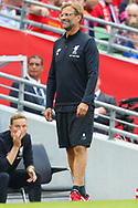 Jurgen Klopp of Liverpool during the Pre-season Friendly match at the Aviva Stadium, Dublin<br /> Picture by Yannis Halas/Focus Images Ltd +353 8725 82019<br /> 05/08/2017