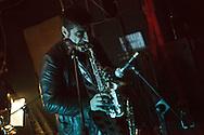 Black Beat Movement in concerto. Rho, Fornace, marzo 2015.