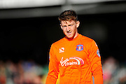 Carlisle Utd goalkeeper Mark Gillespie during the Sky Bet League 2 match between Yeovil Town and Carlisle United at Huish Park, Yeovil, England on 25 March 2016. Photo by Graham Hunt.