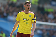 Burnley defender Michael Keane during the Sky Bet Championship match between Brighton and Hove Albion and Burnley at the American Express Community Stadium, Brighton and Hove, England on 2 April 2016. Photo by Bennett Dean.