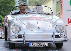 20.07.2017, Gröbming, AUT, Ennstal-Classic 2017, Start Prolog, im Bild Neel Jani und Fritz Enzinger, CH/AT, Porsche 356 A Speedster Bj. 1958 // during the Ennstal-Classic 2017 in Gröbming, Austria on 2017/07/20. EXPA Pictures © 2017, PhotoCredit: EXPA / Martin Huber