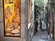 Gift store in Taormina