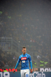 December 26, 2018 - Milan, Milan, Italy - Arkadiusz Milik #99 of SSC Napoli during the serie A match between FC Internazionale and SSC Napoli at Stadio Giuseppe Meazza on December 26, 2018 in Milan, Italy. (Credit Image: © Giuseppe Cottini/NurPhoto via ZUMA Press)