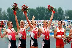 20080817 Olympics Beijing 2008, Rowing, LM4 Finale, Guldfireren vinder OL guld.