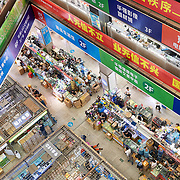 A mall selling high-tech parts in Shenzhen, a hightech hub in southern China.