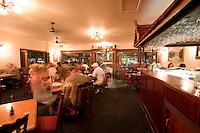 The cosy interior of Siam Thai Restaurant in Port Douglas, far north Queensland, Australia.