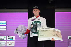 Lorena Wiebes (NED) leads the youth classification during Ladies Tour of Norway 2019 - Stage 1, a 128 km road race from Åsgårdstrand to Horten, Norway on August 22, 2019. Photo by Sean Robinson/velofocus.com
