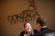 Washington State Supreme Court visits Gonzaga University. (Photo by Gonzaga University)