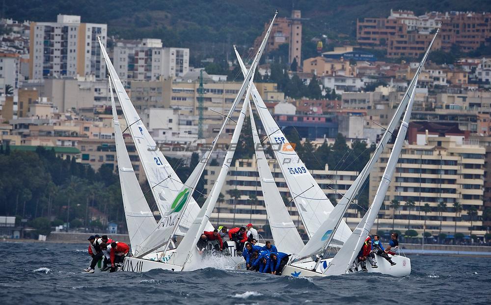Platu 25 spanish championshio 2011,Marbella,Spain,Day 1 ©jrenedo