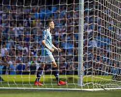 Phil Foden of Manchester City celebrates scoring his sides first goal - Mandatory by-line: Jack Phillips/JMP - 20/04/2019 - FOOTBALL - Etihad Stadium - Manchester, England - Manchester City v Tottenham Hotspur - English Premier League