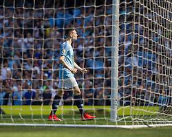 Phil Foden of Manchester City celebrates scoring his sides first goal - Mandatory by-line: Jack Phillips/JMP - 20/04/2019 - FOOTBALL - Etihad Stadium - Manchester, England - Manchester City v Tottenham Hotspur - English Premier League