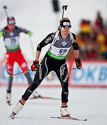 "19.01.2012, Südtirol Arena, Antholz, ITA, E.ON IBU Weltcup, 6. Biathlon, Antholz, Sprint Damen, im Bild Elisa Gasparin (SUI) // Elisa Gasparin (SUI) during Sprint Women E.ON IBU World Cup 6th, ""South Tyrol Arena"", Antholz-Anterselva, Italy on 2012/01/19, EXPA Pictures © 2012, PhotoCredit: EXPA/ Juergen Feichter"