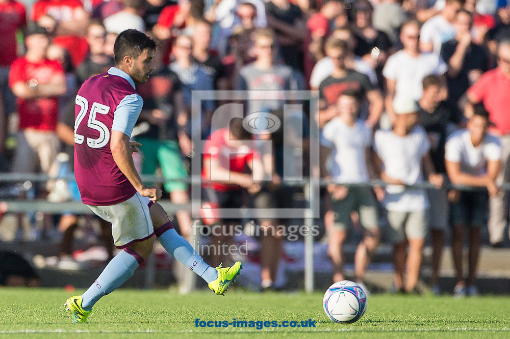 Carles Gil of Aston Villa during the pre season friendly match at Sportcentre Weinzoedl, Graz, Austria.<br /> Picture by EXPA Pictures/Focus Images Ltd 07814482222<br /> 09/07/2016<br /> *** UK &amp; IRELAND ONLY ***<br /> EXPA-IES-160709-0021.jpg