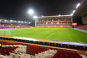 View of the Trent End before the EFL Sky Bet Championship match between Nottingham Forest and Middlesbrough at the City Ground, Nottingham, England on 10 December 2019.