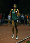 Apr 18, 2019; Azusa, CA, USA; Caroline Kurgat of Alaska Anchorage places third in the women's 5,000m in 15:40.45 at the Bryan Clay Invitational at Azusa Pacific University.