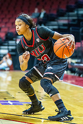 NORMAL, IL - November 20: Myia Starks during a college women's basketball game between the ISU Redbirds and the Huskies of Northern Illinois November 20 2019 at Redbird Arena in Normal, IL. (Photo by Alan Look)