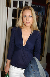 IMOGEN LLOYD WEBBER at the Grand Classics screening of Brighton Rock hosted by Paul Simonon at The Electric Cinema, Portobello Road, London W11 on 5th June 2006.<br /><br />NON EXCLUSIVE - WORLD RIGHTS