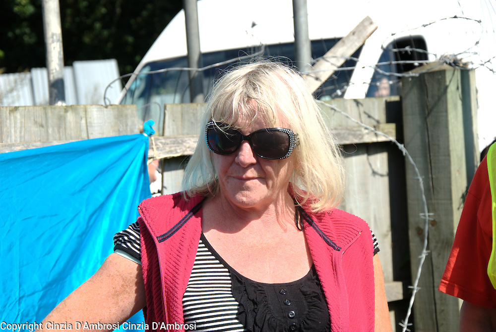 Kathleen McCarthy is one of the Travellers resident at Dale Farm