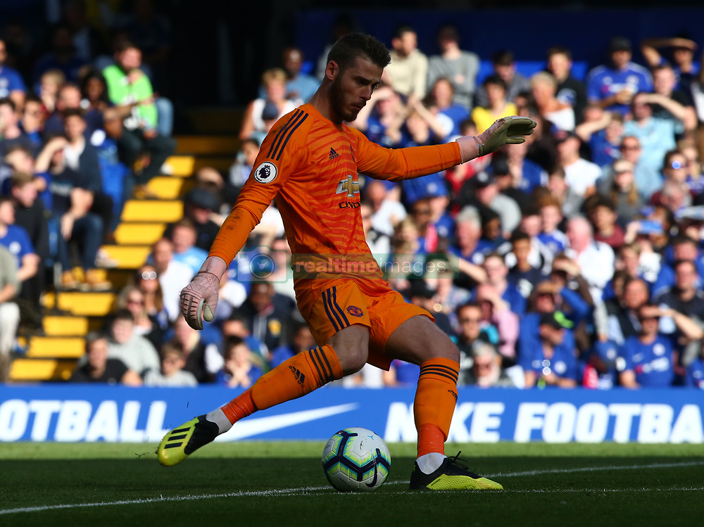 October 20, 2018 - London, England, United Kingdom - London, England - October 20: 2018.Manchester United's David De Gea.during Premier League between Chelsea and Manchester United at Stamford Bridge stadium , London, England on 20 Oct 2018. (Credit Image: © Action Foto Sport/NurPhoto via ZUMA Press)