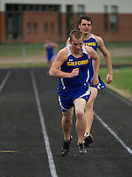 Gilford High School track meet May 2, 2013.  Karen Bobotas Photographer