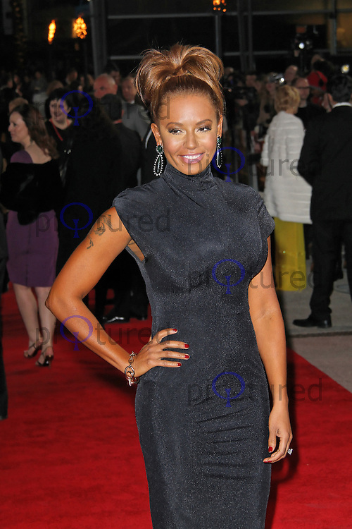 LONDON - MARCH 14: Melanie Brown; Mel B attends the Euorpean Film Premiere of 'The Hunger Games' at Cineworld, The O² Arena, London, UK. March 14, 2012. (Photo by Richard Goldschmidt)